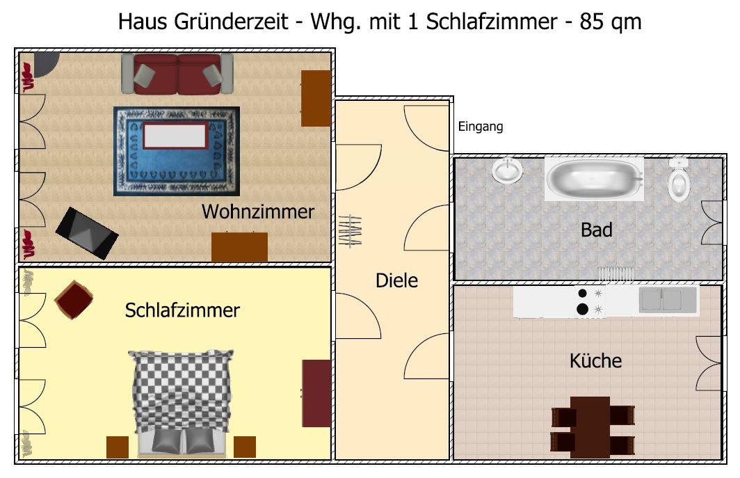 schematischer grundri haus gr nderzeit. Black Bedroom Furniture Sets. Home Design Ideas